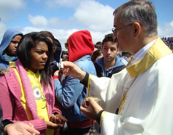 Jovens em Peregrinação ao Santuário Nossa Senhora da Piedade