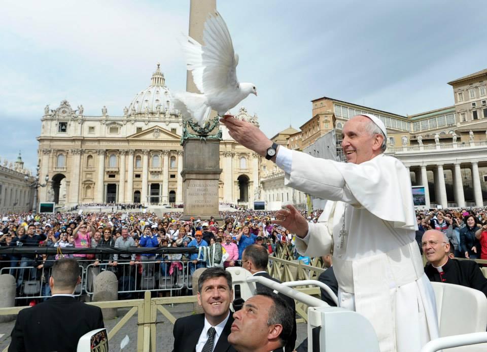 Papa escolhe tema para o Dia Mundial da Paz 2015