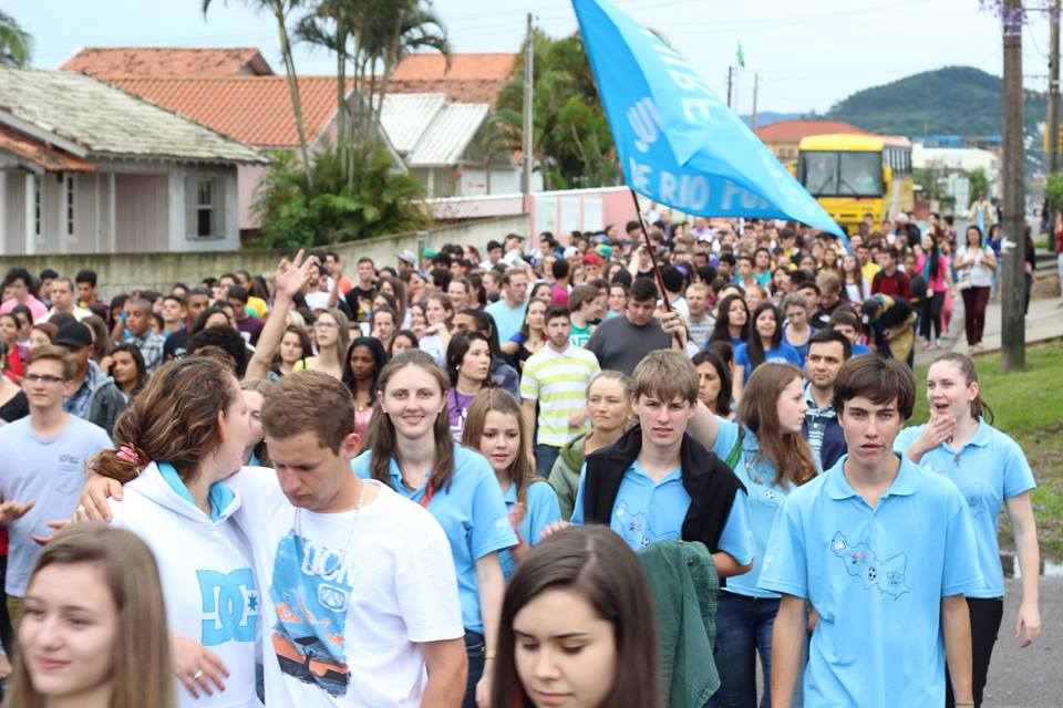 Em Santa Catarina, Diocese de Tubarão reúne dois mil jovens