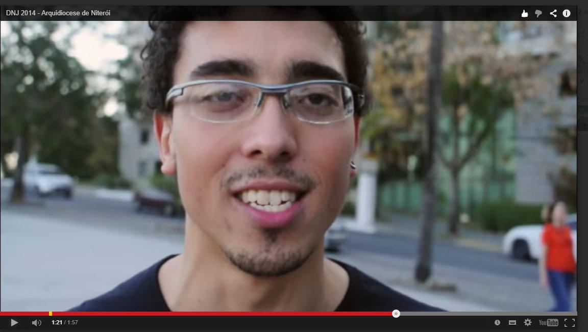 DNJ: Em vídeo, jovens de Niterói falam de missão
