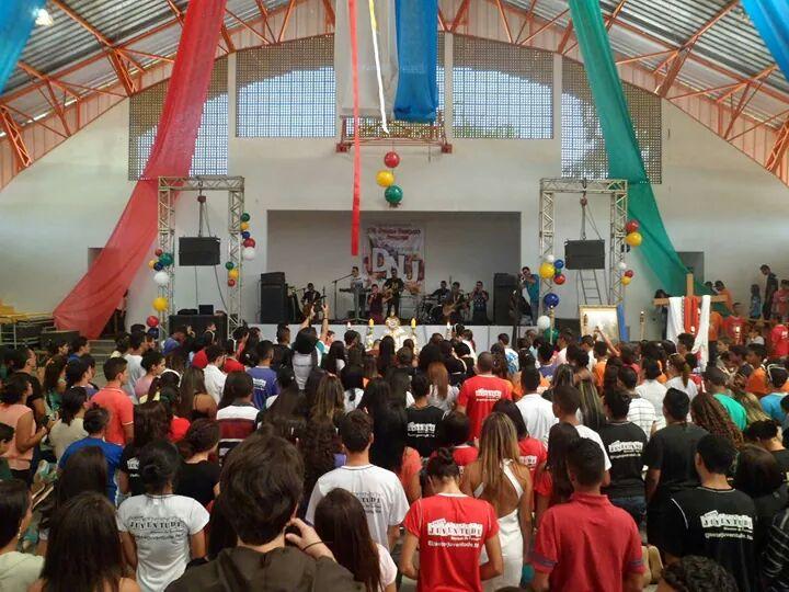 DNJ em Formosa reúne centenas de jovens