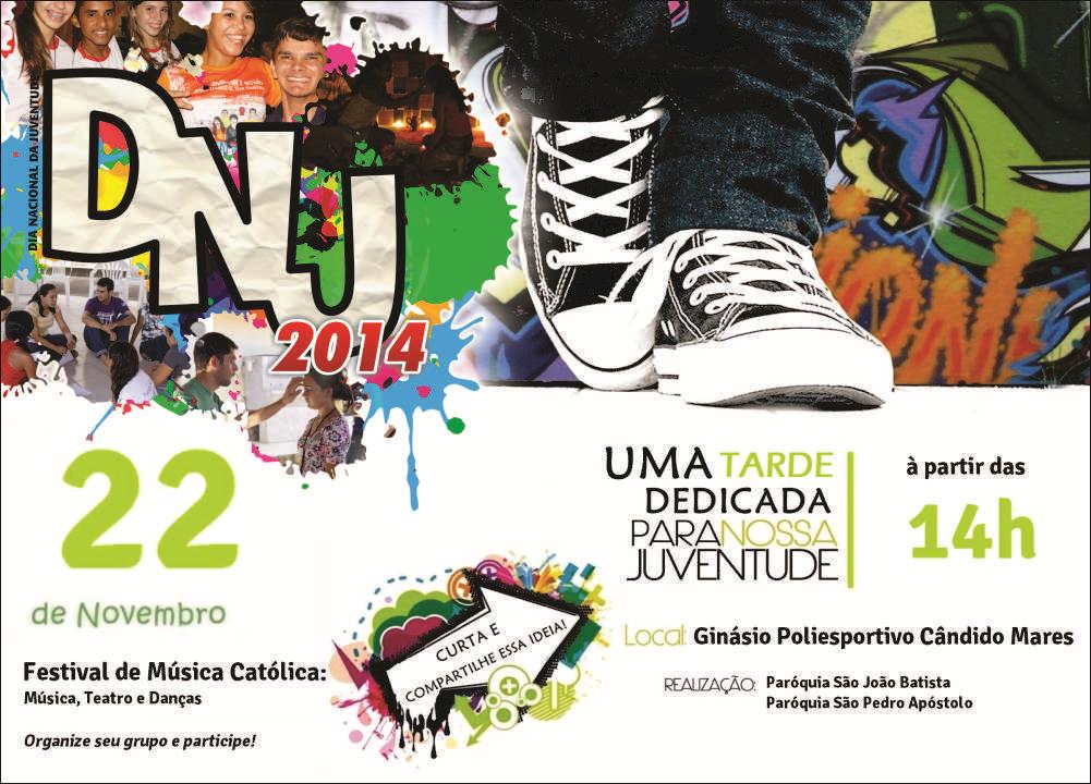 Diocese de Almenara promove festival no DNJ