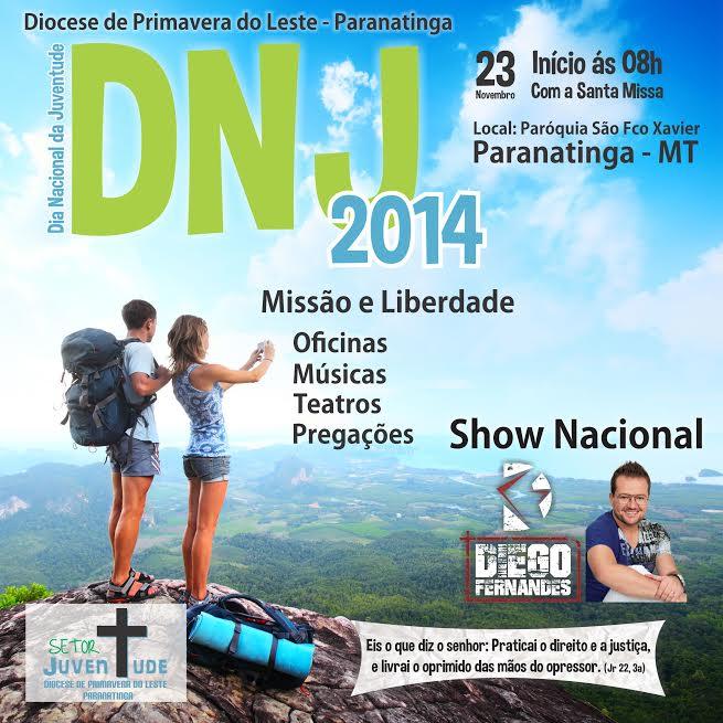 Diocese de Primavera do Leste recebe DNJ