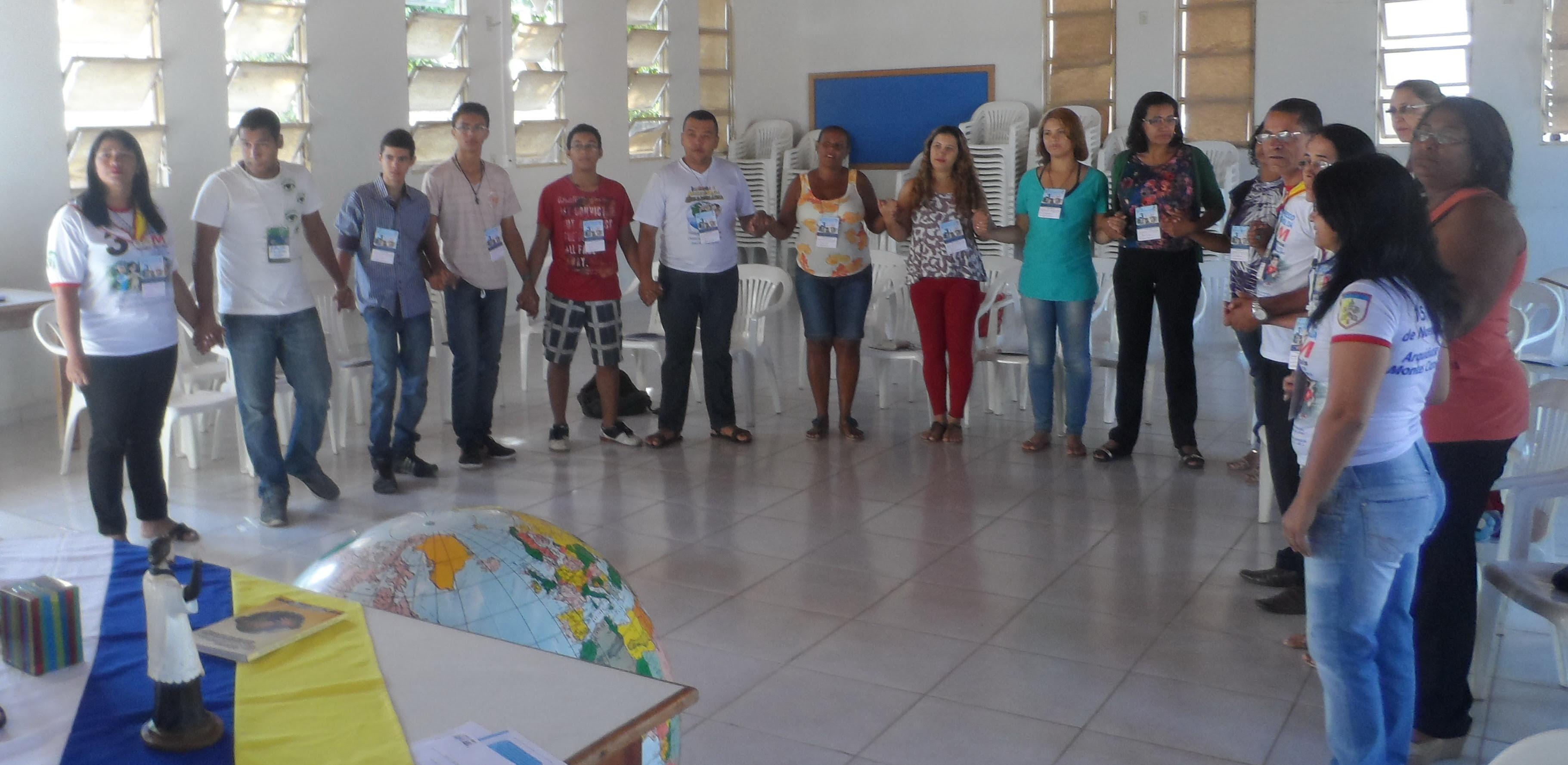 Diocese de Januária fortalece trabalho da Infância, Adolescência e Juventude Missionária