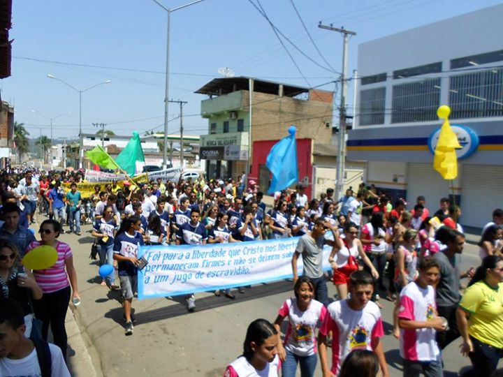 Cidade de Ipaba/MG reúne 600 jovens no DNJ