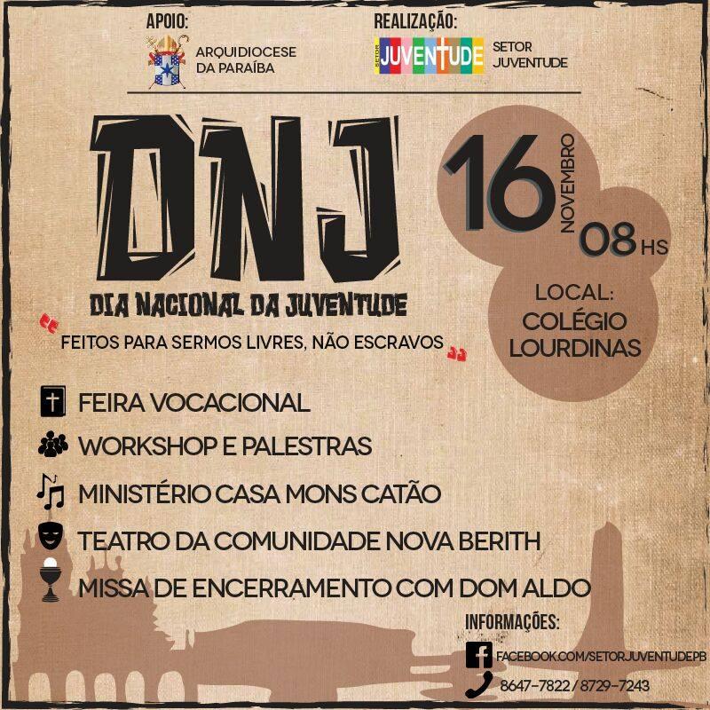Arquidiocese da Paraíba em preparação para o DNJ