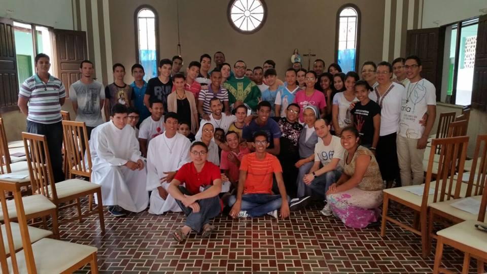 Jovens da Diocese de Imperatriz (MA)  participam de Retiro Vocacional