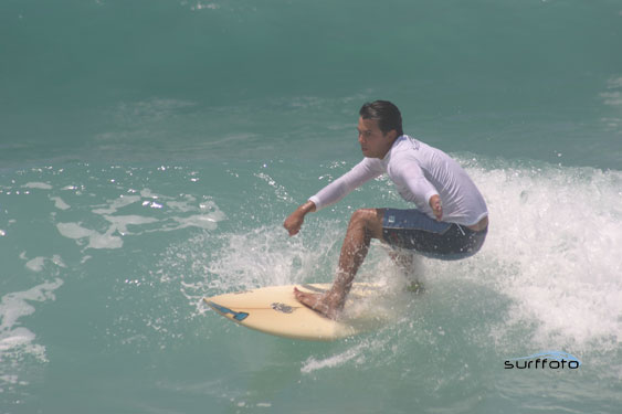 Um surfista campeão
