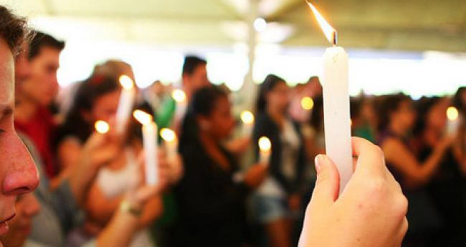 Ato é realizado em memória das vítimas da Boate Kiss