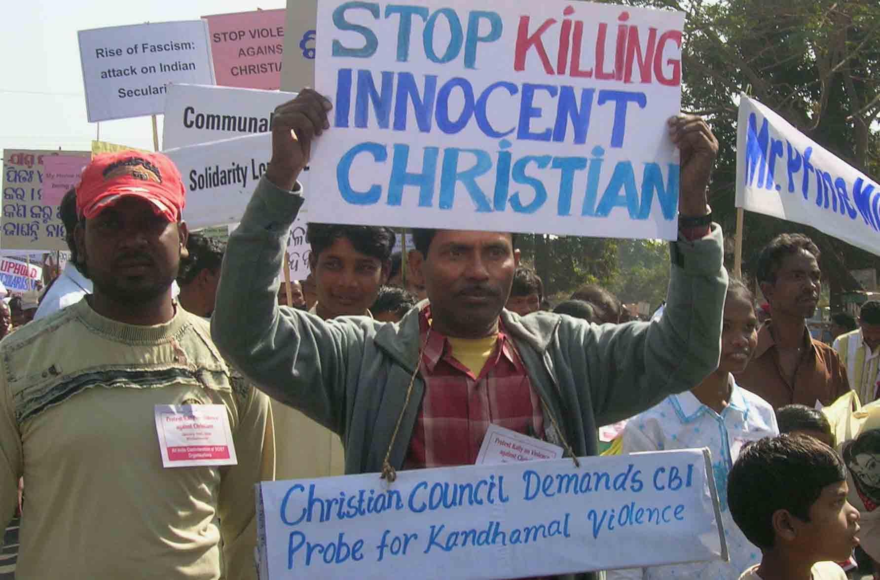 Índia, onde ser cristão é perigoso para a própria segurança