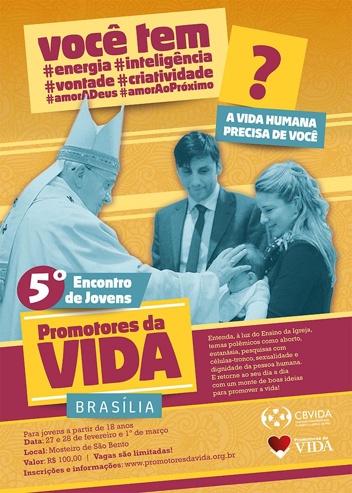 Brasília realiza V Encontro Jovens Promotores da Vida