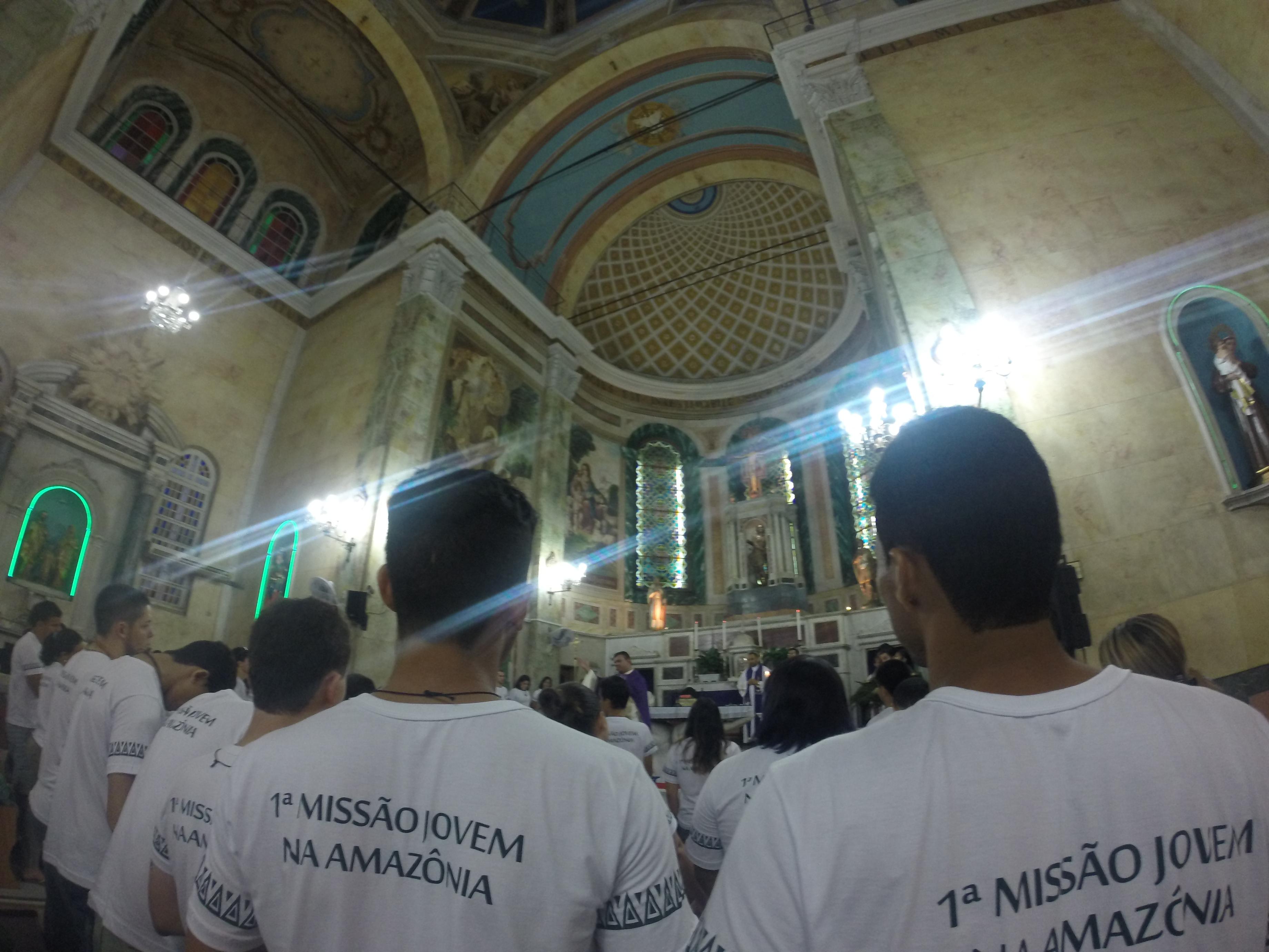 Jovens da I Missão na Amazônia contam experiências ao Papa Francisco