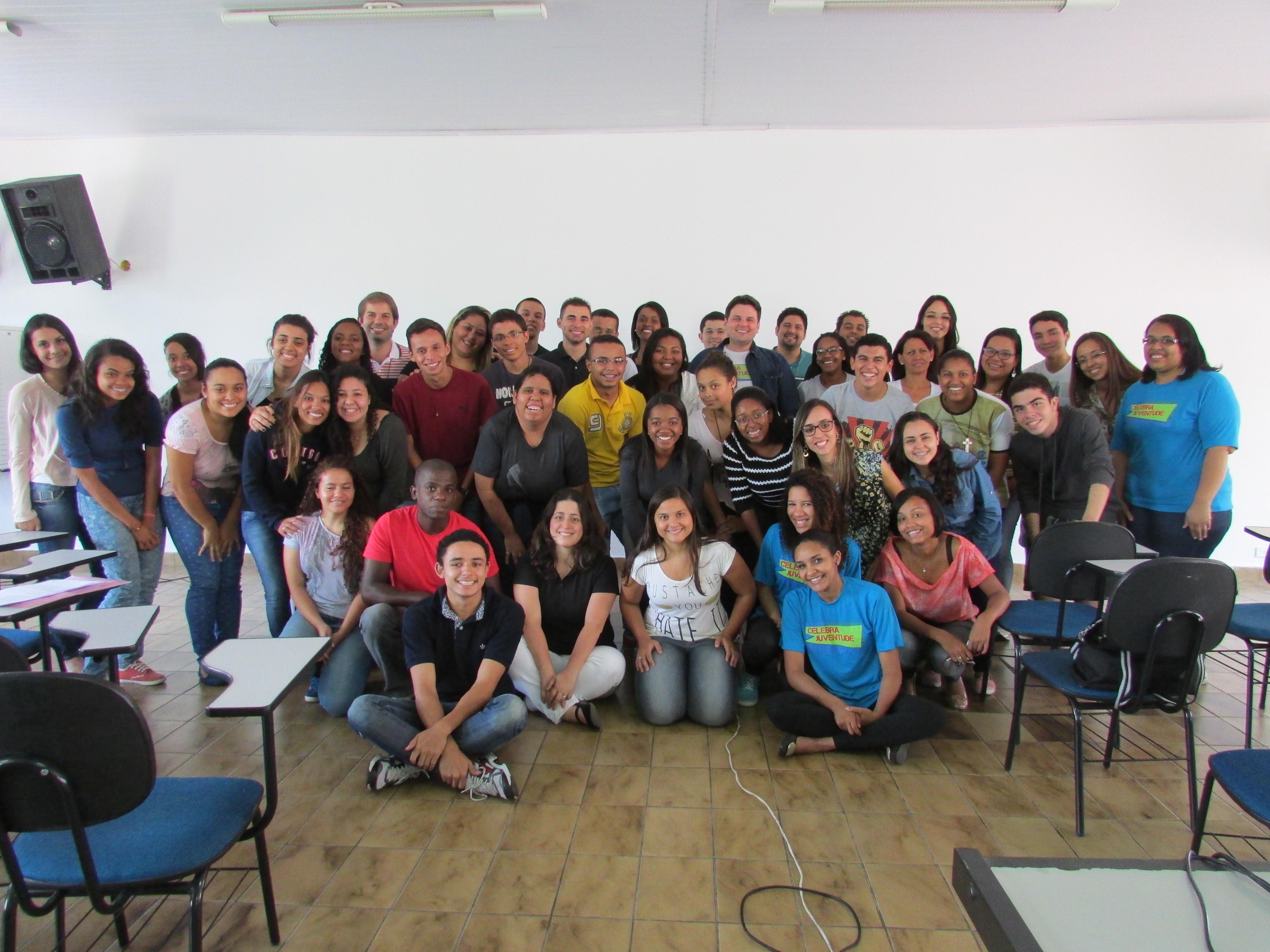 Encontro de Formação para jovens da Diocese de Campo Limpo SP