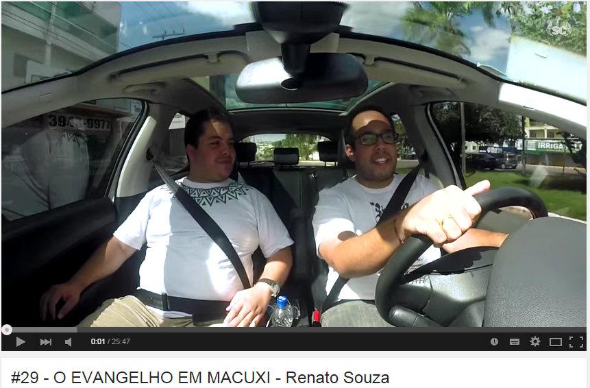 Coordenador da Missão na Amazônia fala a canal no Youtube