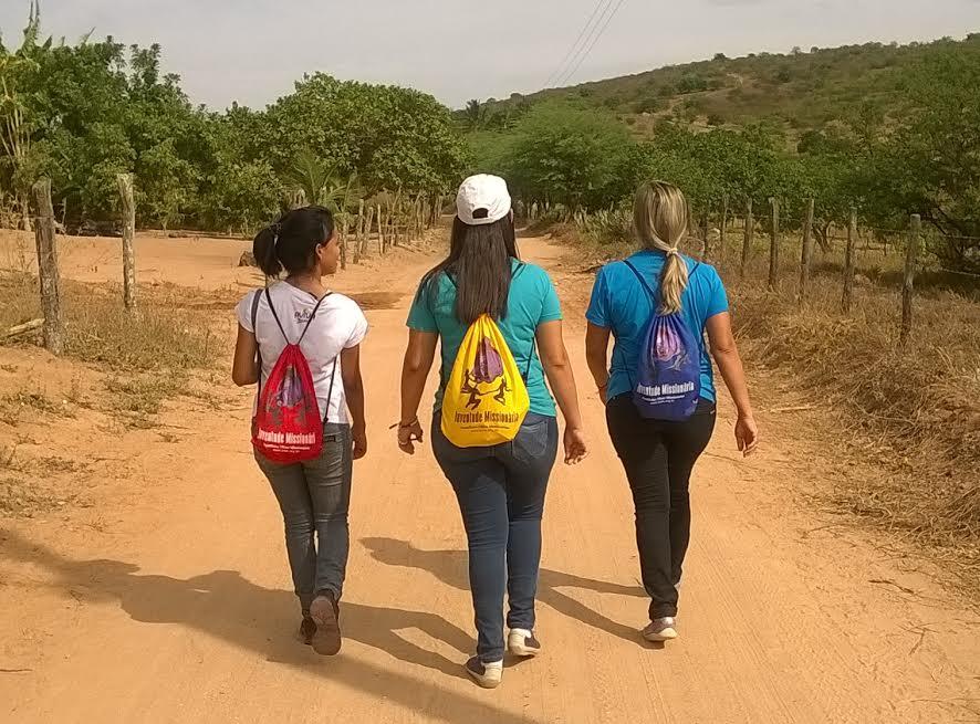 Jovens fazem missão na zona rural de Alagoas « Jovens