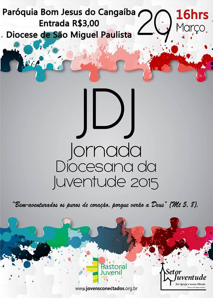 Juventude de São Miguel Paulista promove JDJ neste domingo