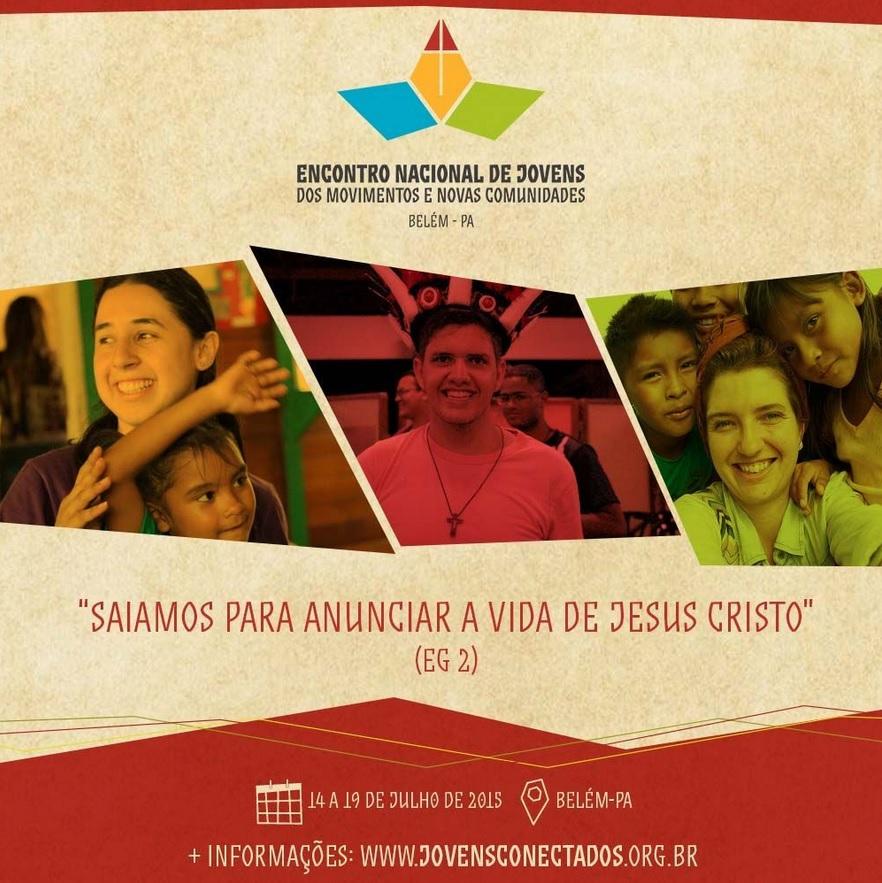 Jovens de movimentos e novas comunidades irão participar de Encontro Nacional, em Belém (PA)