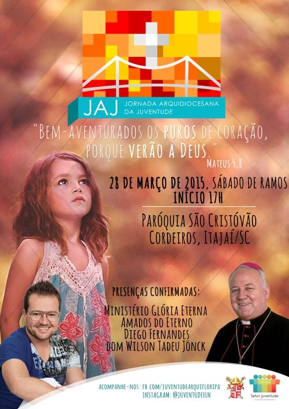 Em Florianópolis, jovens se preparam para Jornada Diocesana