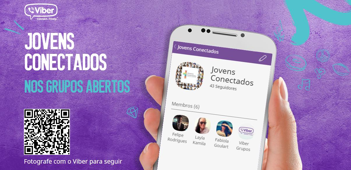 Jovens Conectados lança grupo aberto no Viber