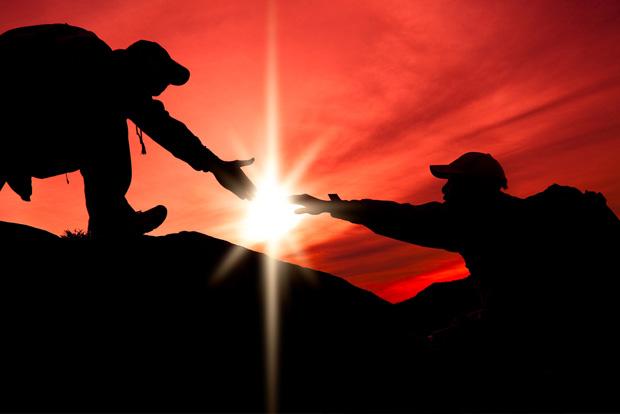 A pessoa certa é a que está ao seu lado nos momentos incertos
