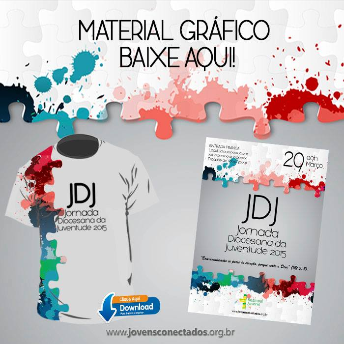 Baixe o material gráfico da JDJ 2015