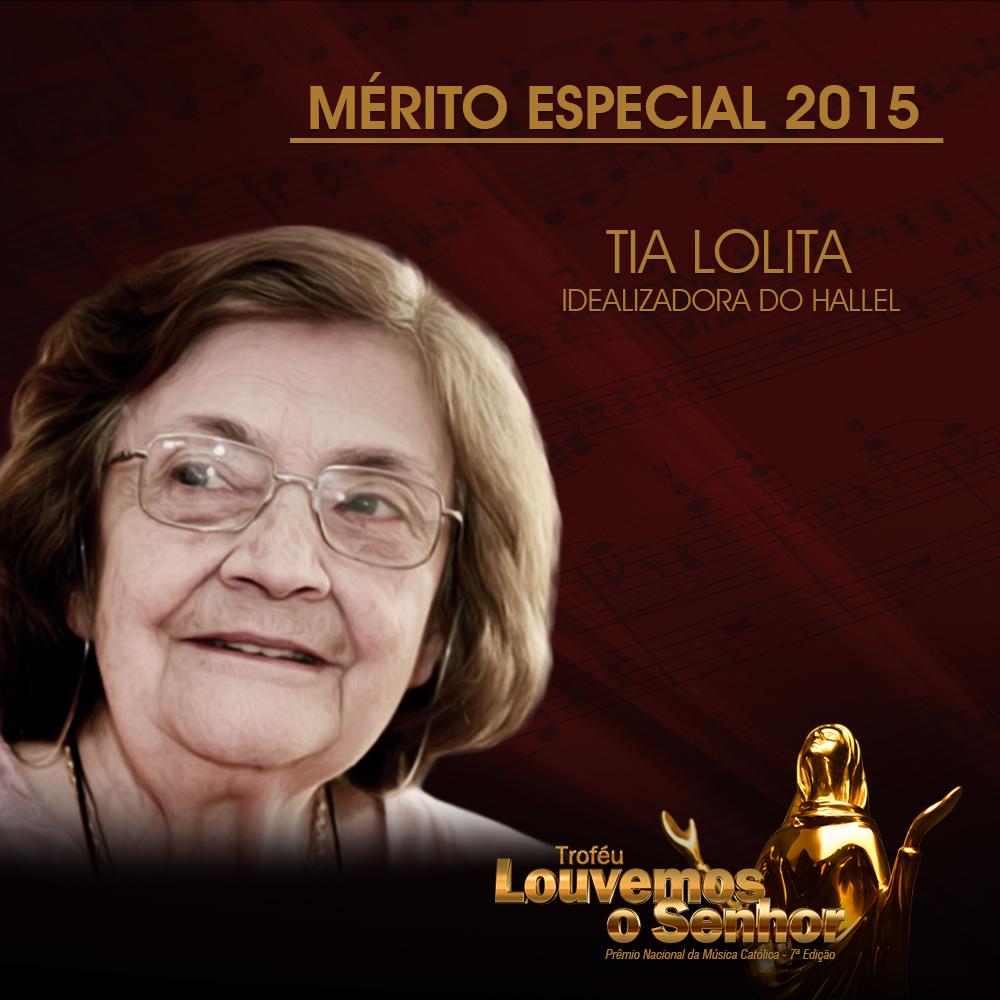 Idealizadora do Hallel receberá Mérito Especial do Troféu Louvemos o Senhor 2015