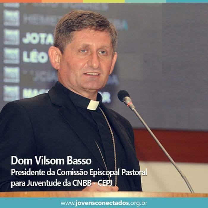 Dom Vilsom Basso é o novo presidente da Comissão para Juventude da CNBB