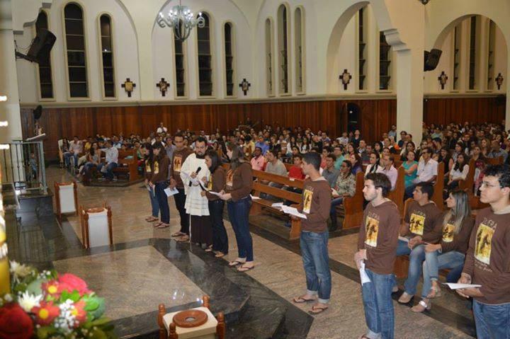 JUFRA oficializa fraternidade em Anápolis (GO) e volta a ser presença no Regional Centro