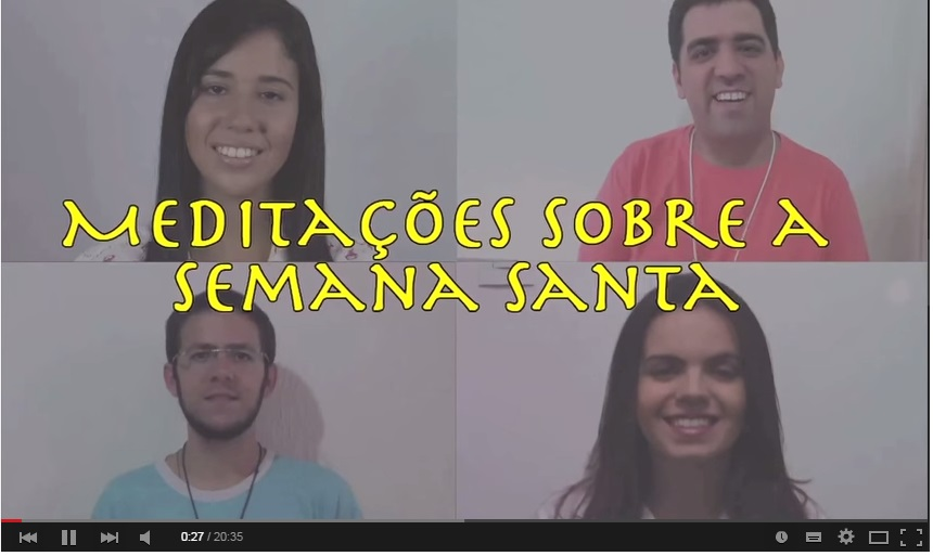 Jovens youtubers promovem ação evangelizadora durante a Semana Santa
