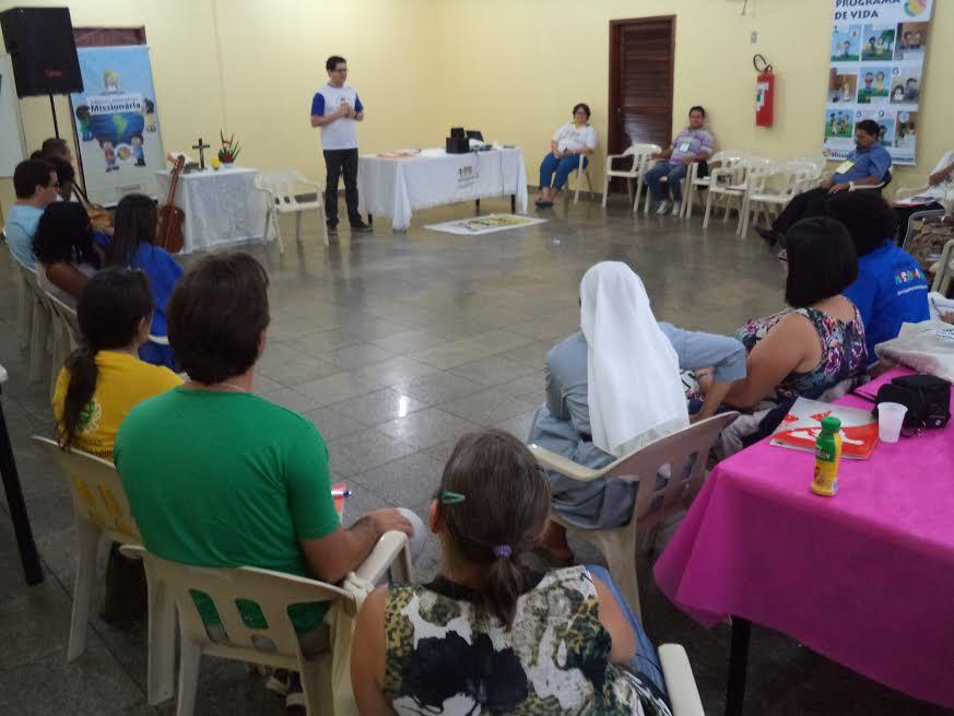 São Paulo  realiza Encontro de Formação da Infância e Adolescência Missionária (IAM)