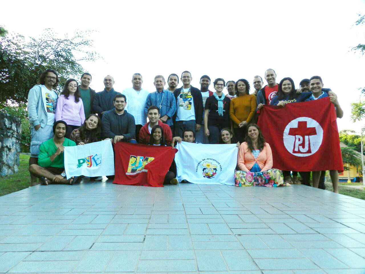 Coordenações nacionais das Pastorais da Juventude do Brasil se reúnem em Guararema