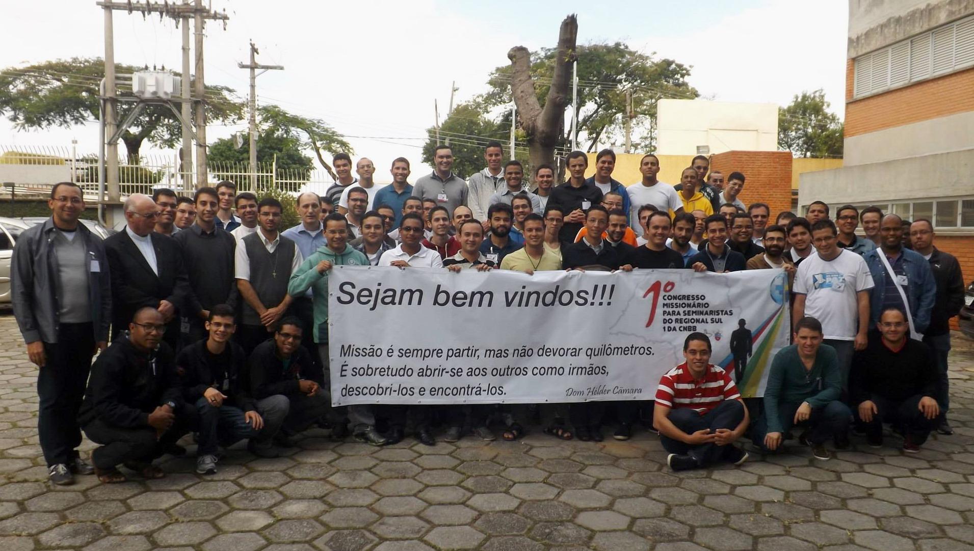 Seminaristas do Estado de São Paulo realizam seu 1º Congresso Missionário