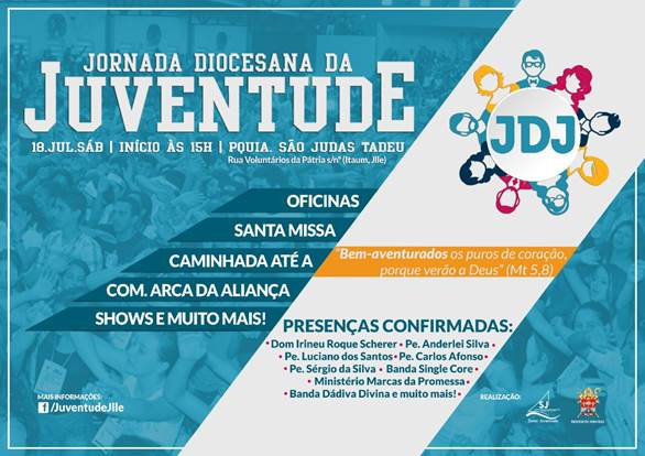 Joinville (SC) terá JDJ em julho