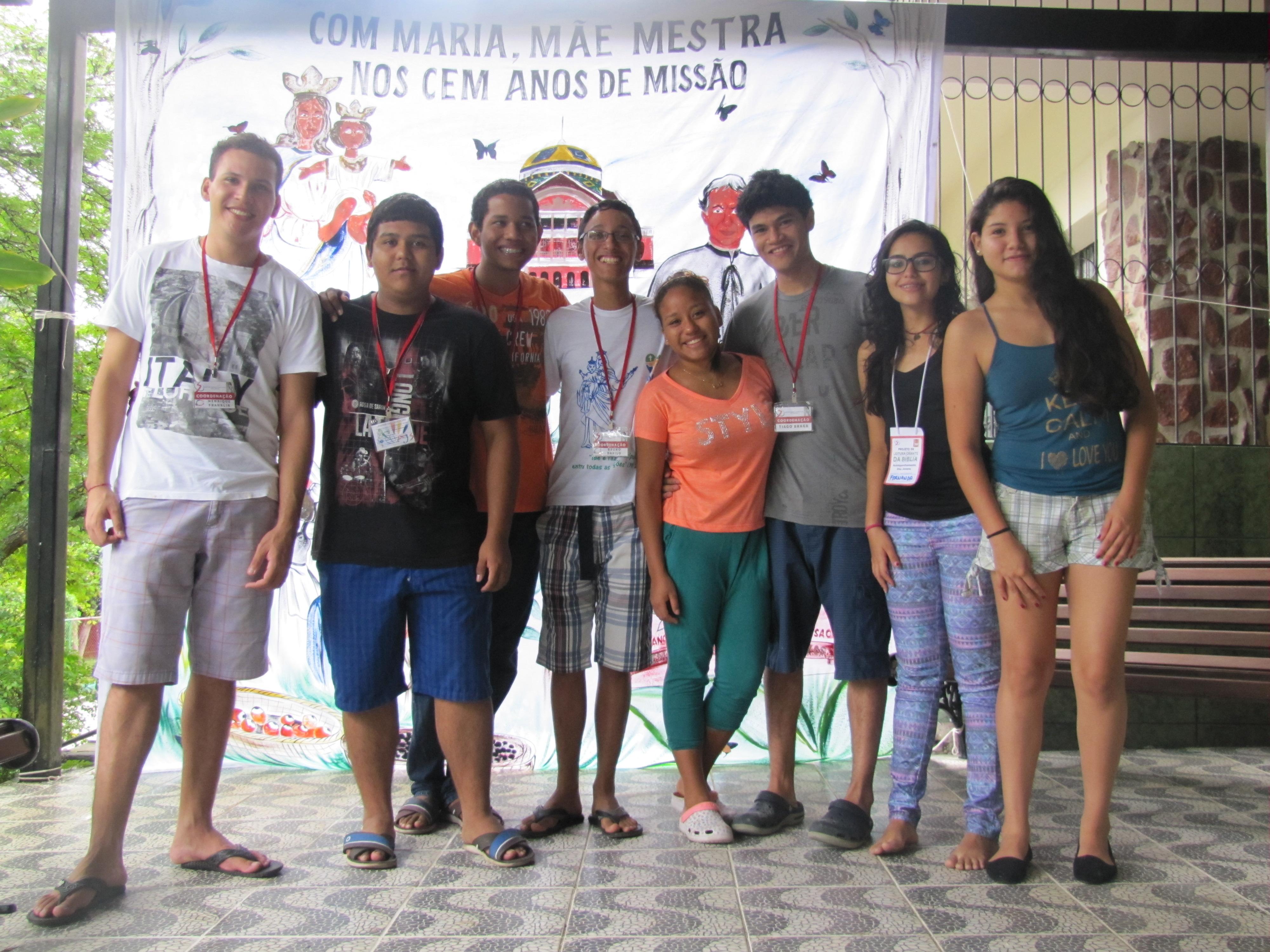 Encontro de Leitura Orante e Acompanhamento de Jovens em Manaus (AM)
