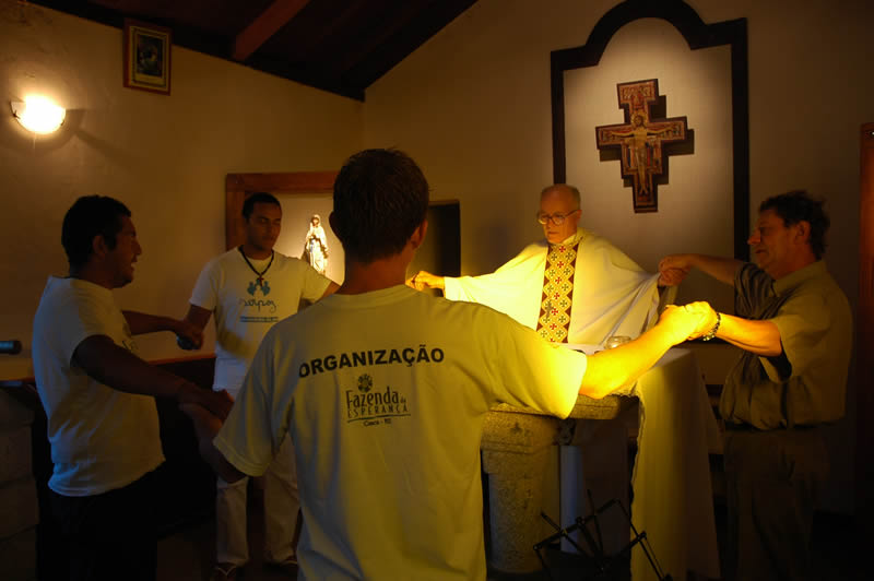 Uma experiência missionária na Fazenda da Esperança