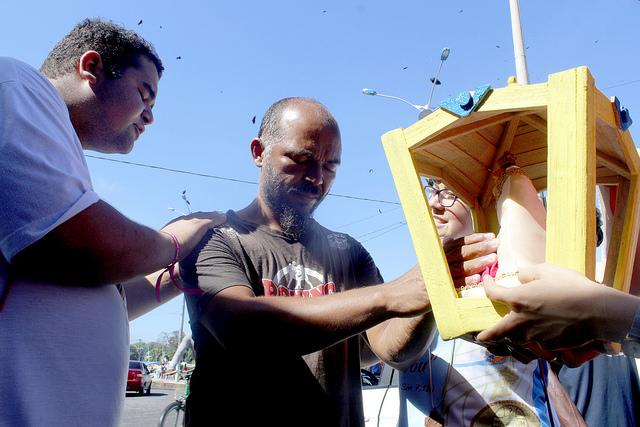 Jovens saem missão em Belém no 3º dia de ENJMC