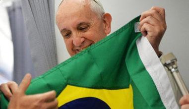 15 frases marcantes do Papa Francisco no Brasil