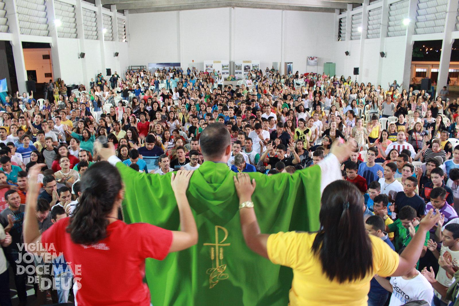 Vigília Jovem Doce Mãe de Deus, em João Pessoa, completa 7 anos