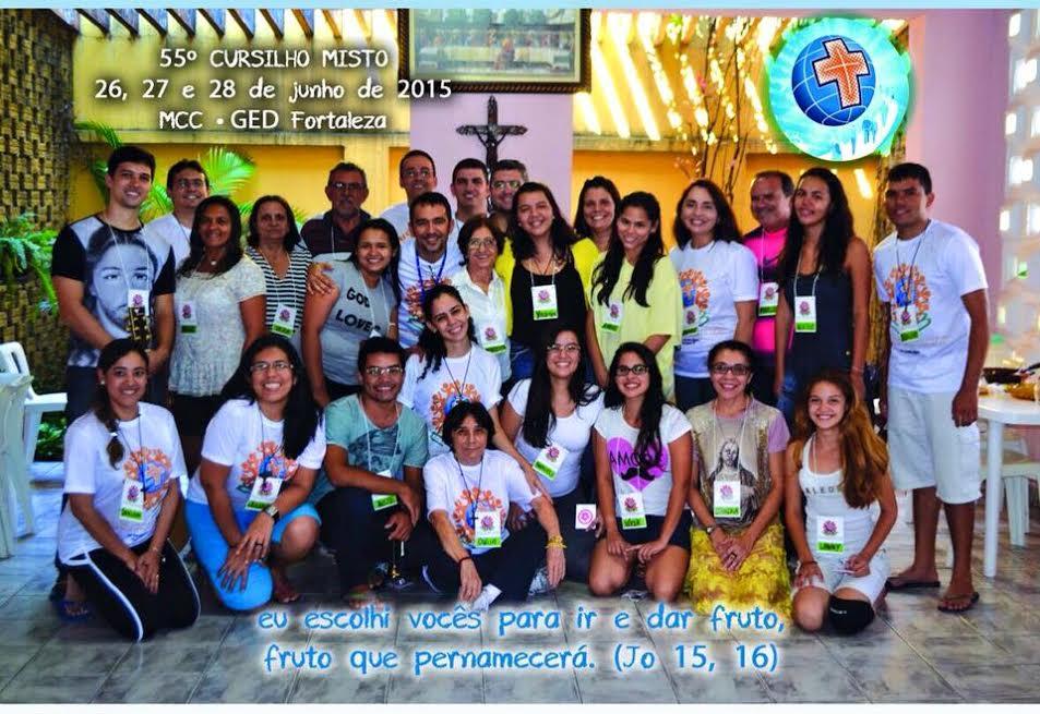 Jovens de Fortaleza participam do 55º Cursilho Misto
