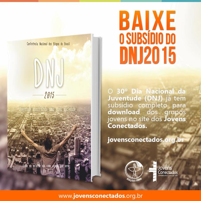 Baixe o subsídio DNJ 2015
