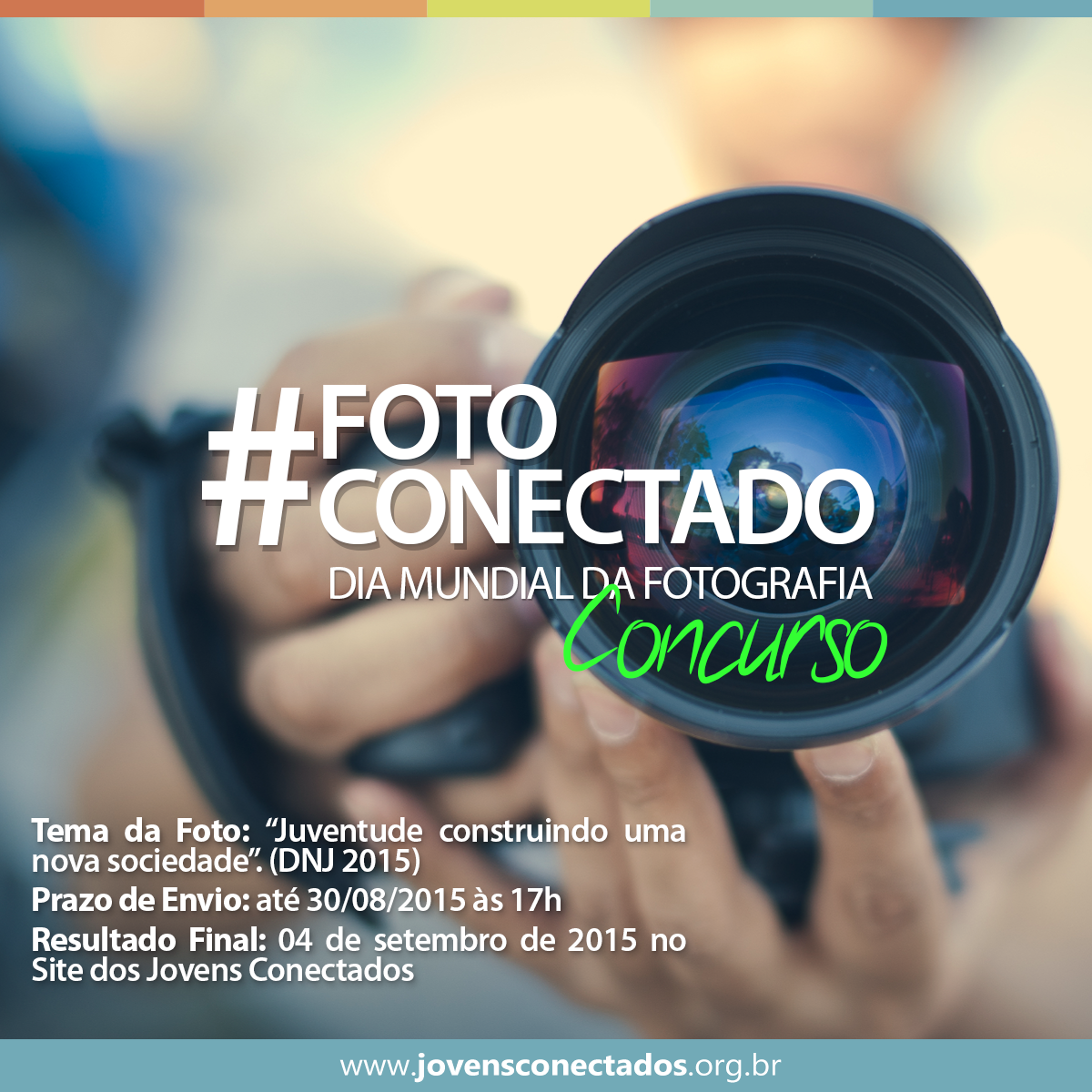 """I Concurso de Fotografia: """"Juventude construindo uma nova sociedade"""""""