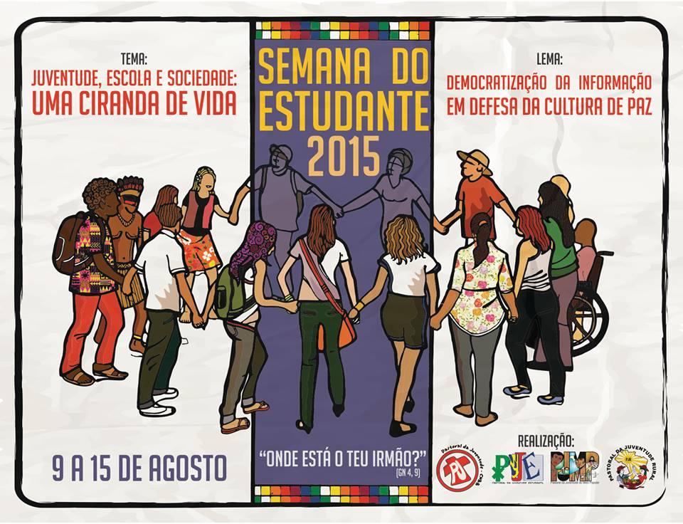Pastorais da Juventude promovem a Semana do Estudante 2015