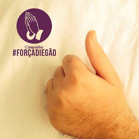 #ForçaDiegão: campanha de oração se espalha pelo Brasil e intercessão ajuda a resgatar vida de um jovem