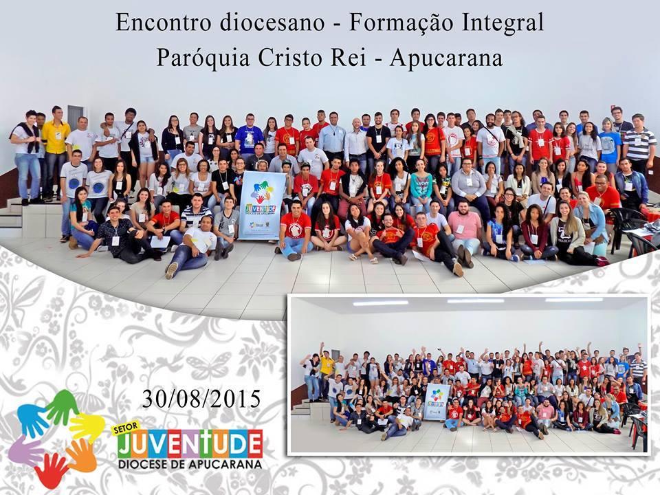 Setor Juventude se reúne na diocese de Apucarana (PR)