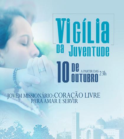 Santuário Nacional de Aparecida convida jovens de todo país para vigília durante festa da padroeira