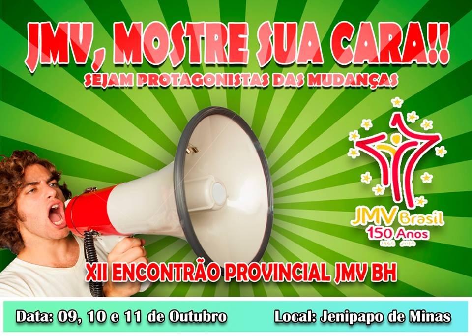 Juventude Mariana Vicentina de BH se reúne neste final de semana