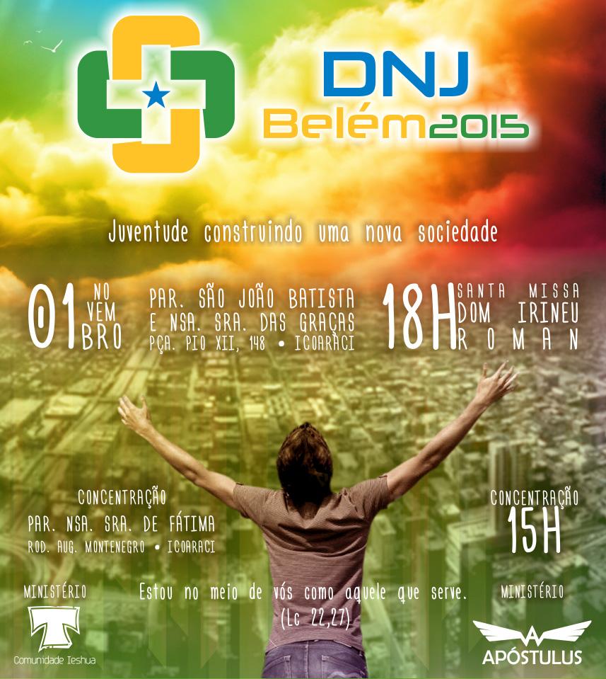 Jovens de Belém celebrarão DNJ no dia 1° de novembro