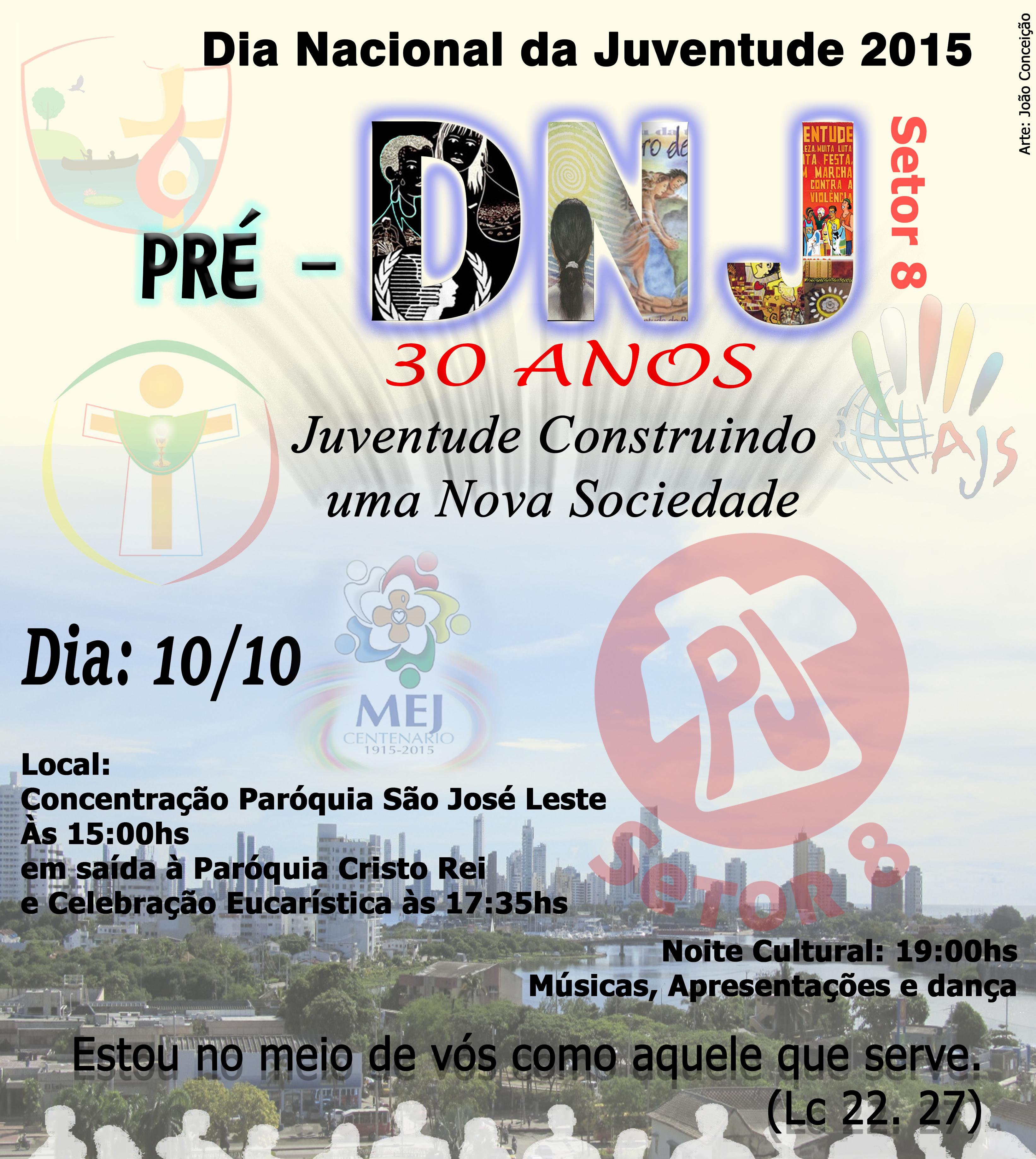 PJ de Manaus promove pré-DNJ no dia 10 de outubro