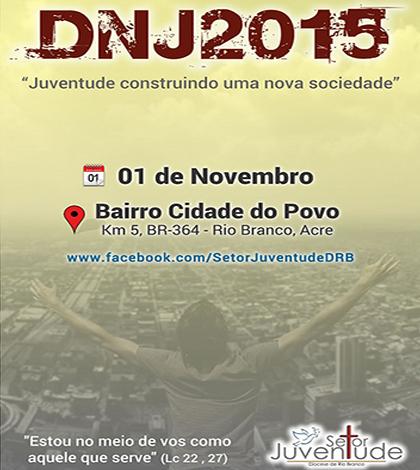 Acre vai promover DNJ em três cidades