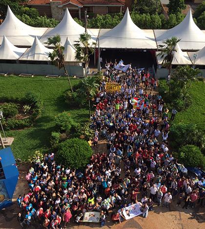 Cafelândia (SP) recebe 600 jovens no DNJ